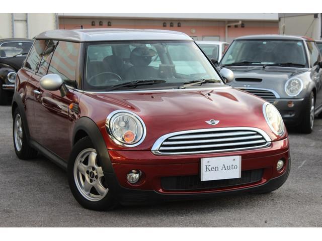 沖縄の中古車 MINI MINI 車両価格 75万円 リ済込 2008(平成20)年 6.3万km ワイン