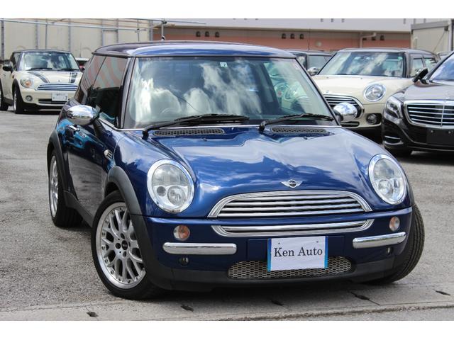 沖縄の中古車 MINI MINI 車両価格 48万円 リ済込 2002(平成14)年 6.0万km ブルー