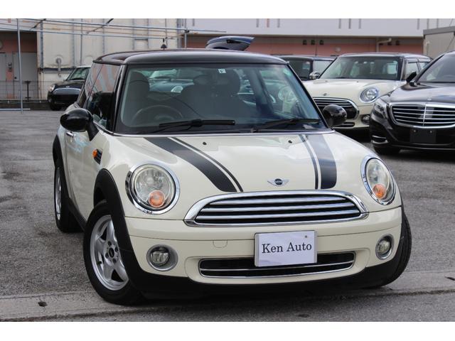 沖縄の中古車 MINI MINI 車両価格 55万円 リ済込 2007(平成19)年 8.7万km ホワイトII
