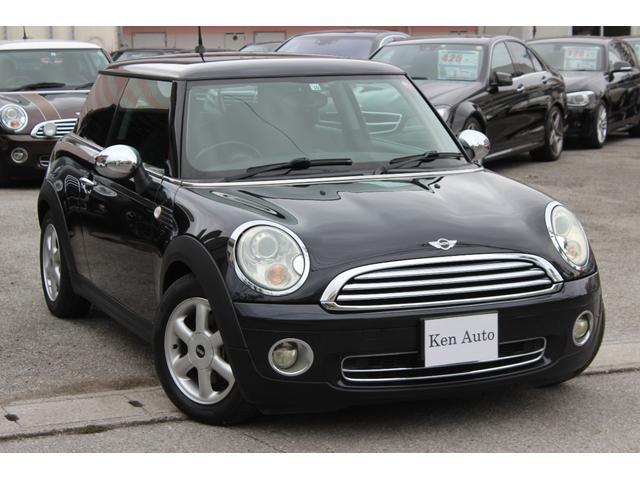 沖縄の中古車 MINI MINI 車両価格 65万円 リ済込 2008(平成20)年 7.1万km ブラック