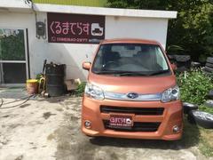 沖縄の中古車 スバル ステラ 車両価格 51万円 リ済込 平成23年 9.6万K オレンジM