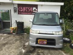 沖縄の中古車 ダイハツ タント 車両価格 22万円 リ済込 平成18年 9.5万K シルバーM