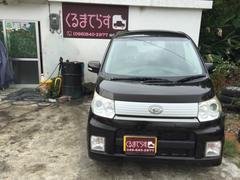 沖縄の中古車 ダイハツ ムーヴ 車両価格 40万円 リ済込 平成22年 8.9万K ブラックM