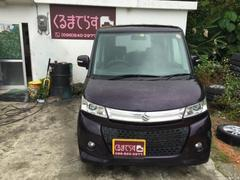 沖縄の中古車 スズキ パレットSW 車両価格 60万円 リ済込 平成22年 5.7万K ワイン