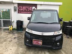 沖縄の中古車 スズキ パレットSW 車両価格 41万円 リ済込 平成22年 13.0万K ブラックM