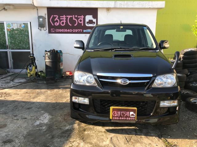 沖縄の中古車 ダイハツ テリオスキッド 車両価格 43万円 リ済込 平成24年 11.1万km ブラックM