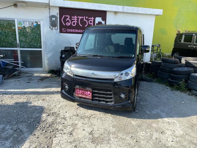 沖縄県豊見城市の中古車ならスペーシアカスタム XSプッシュスタートETC内地ナビTVコーティング