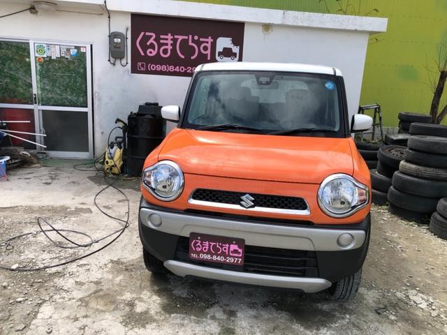 沖縄県の中古車ならハスラー G 内地物 ナビ レーダーブレーキ