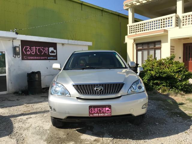 沖縄県豊見城市の中古車ならハリアー 240G アルカンターラバージョン ナビ 地デジ