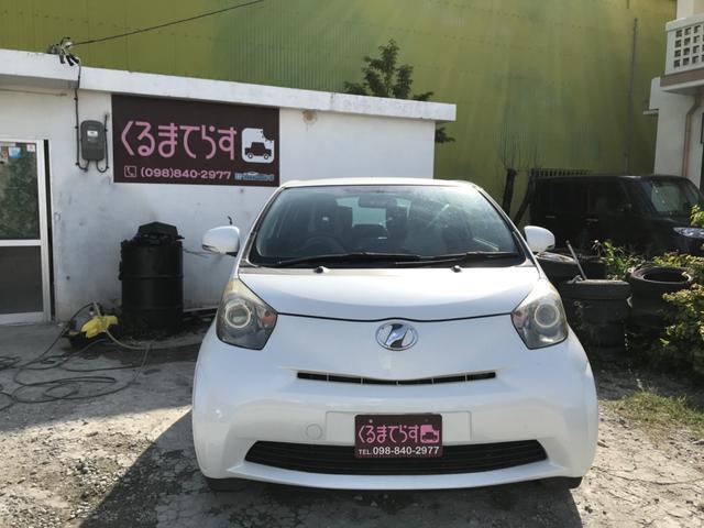沖縄県の中古車ならiQ 100G レザーパッケージ ナビ