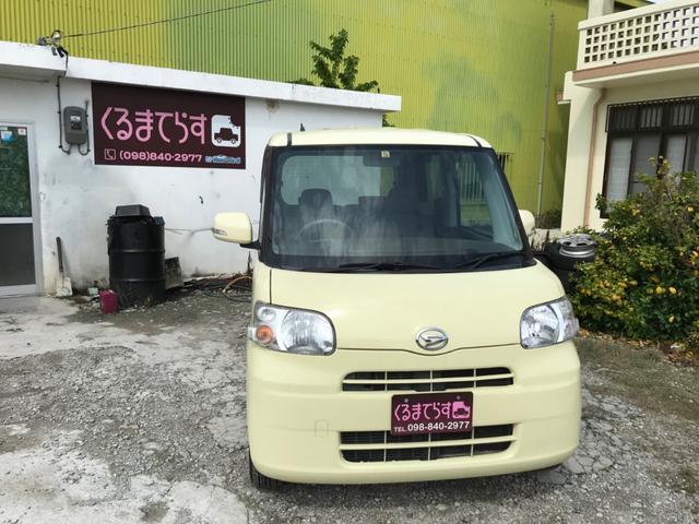 沖縄県の中古車ならタント G 地デジナビ パワスラ スマートキー