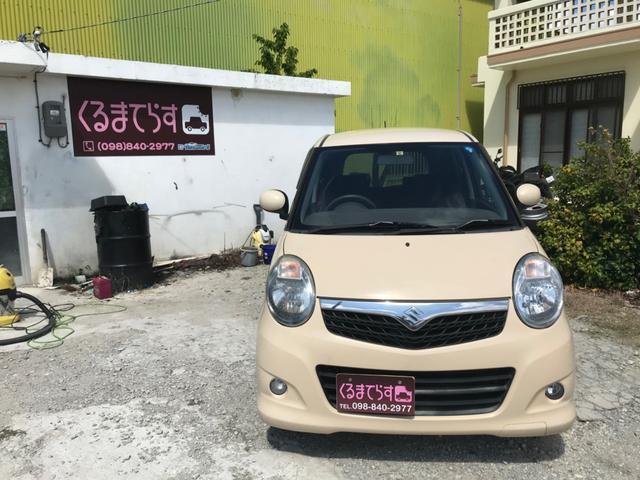 沖縄の中古車 スズキ MRワゴン 車両価格 14万円 リ済込 2007(平成19)年 9.6万km ブラウンM