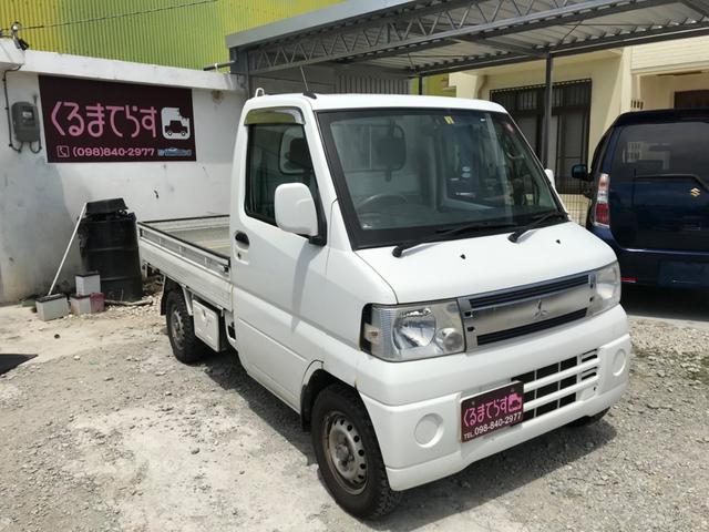 沖縄県豊見城市の中古車ならミニキャブトラック VX-SE パートタイム4WD エアコン付き