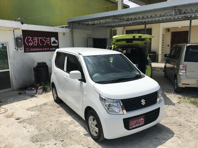 沖縄の中古車 スズキ ワゴンR 車両価格 32万円 リ済込 2015(平成27)年 10.2万km ホワイトM