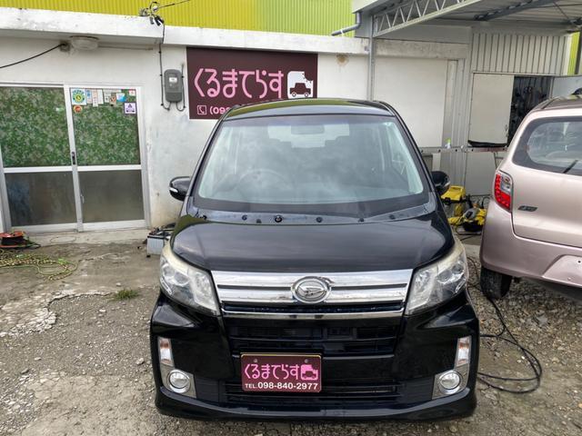 沖縄の中古車 ダイハツ ムーヴ 車両価格 35万円 リ済込 2013(平成25)年 12.7万km ブラックM