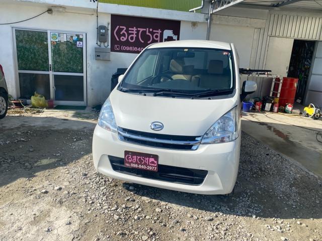 沖縄県の中古車ならムーヴ X 地デジナビ スマートキー プッシュスタート ETC アイドリングストップ オートエアコン