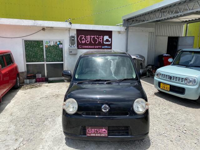沖縄の中古車 ダイハツ ミラココア 車両価格 19万円 リ済込 2010(平成22)年 12.9万km ブラックM