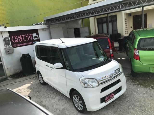 沖縄の中古車 ダイハツ タント 車両価格 47万円 リ済込 2013(平成25)年 11.6万km ホワイト