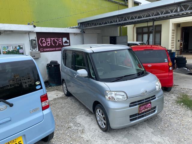 沖縄県豊見城市の中古車ならタント G 地デジナビ Bluetooth パワースライドドア
