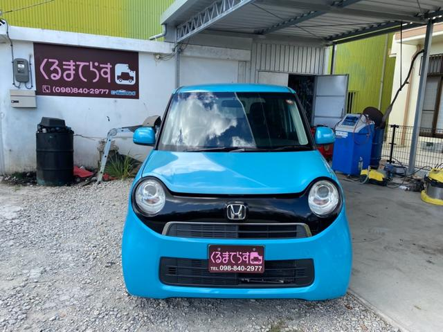 沖縄の中古車 ホンダ N-ONE 車両価格 38万円 リ済込 2013(平成25)年 11.2万km プレミアムブルームーンパールII