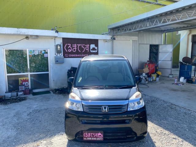 沖縄の中古車 ホンダ ライフ 車両価格 18万円 リ済込 2012(平成24)年 14.1万km ブラックM
