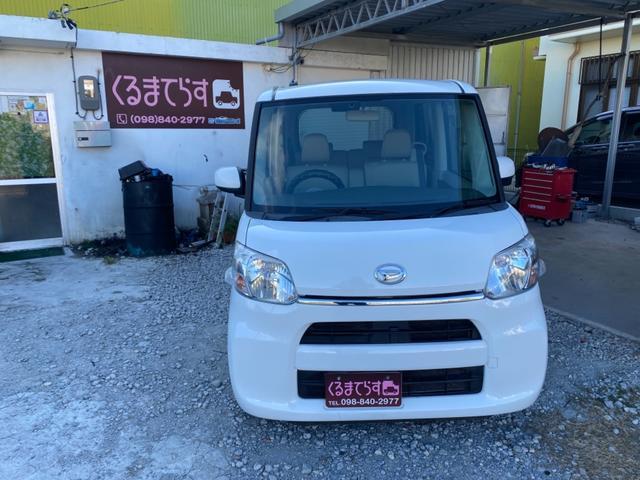 沖縄の中古車 ダイハツ タント 車両価格 43万円 リ済込 2015(平成27)年 10.9万km ホワイト