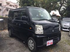 沖縄の中古車 スズキ エブリイワゴン 車両価格 11万円 リ済別 平成19年 31.5万K ブラック