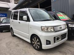 沖縄の中古車 スズキ ワゴンR 車両価格 34万円 リ済込 平成19年 9.0万K パールホワイト