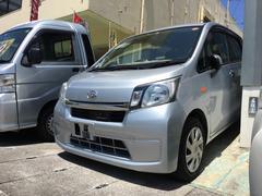 沖縄の中古車 ダイハツ ムーヴ 車両価格 54万円 リ済込 平成25年 5.9万K ブライトシルバーメタリック