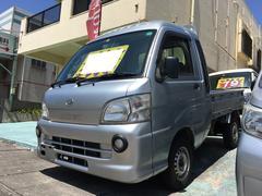沖縄の中古車 ダイハツ ハイゼットトラック 車両価格 74万円 リ済込 平成22年 12.8万K シルバーM
