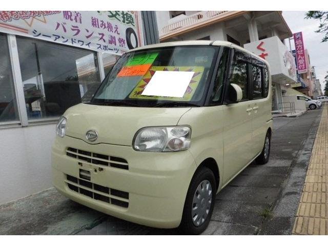 沖縄の中古車 ダイハツ タント 車両価格 34万円 リ済込 平成21年 9.8万km コットンアイボリー