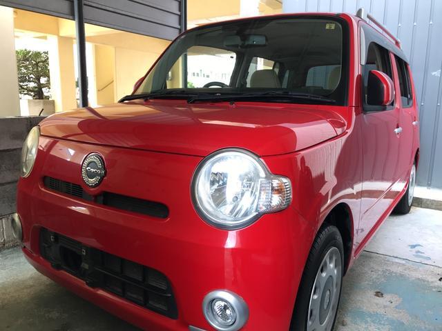 沖縄の中古車 ダイハツ ミラココア 車両価格 44万円 リ済込 平成21年 9.9万km シャイニングレッド
