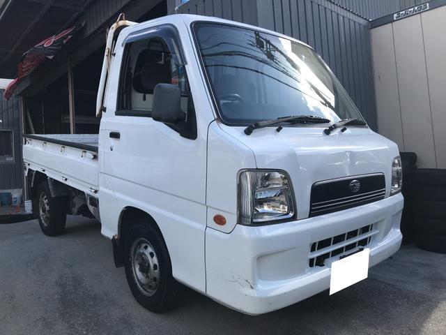 沖縄県の中古車ならサンバートラック 5MT エアコン
