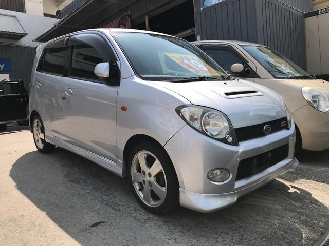 沖縄の中古車 ダイハツ MAX 車両価格 19万円 リ済込 2002(平成14)年 11.4万km シルバーメタリック