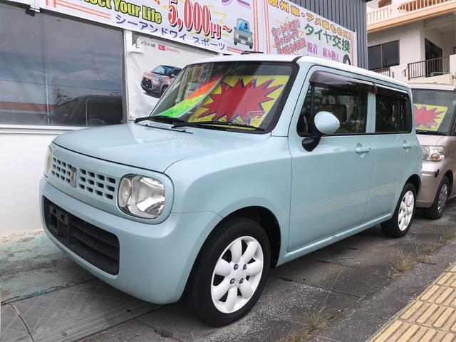 沖縄県の中古車ならアルトラパン X スマートキー