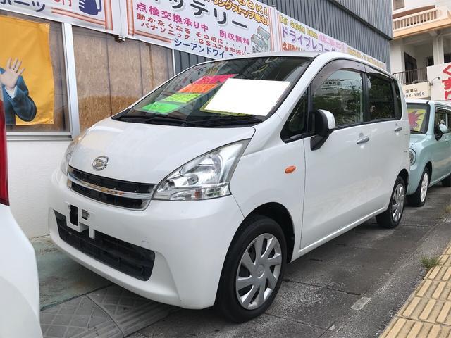 沖縄の中古車 ダイハツ ムーヴ 車両価格 34万円 リ済込 2012(平成24)年 6.9万km ホワイト