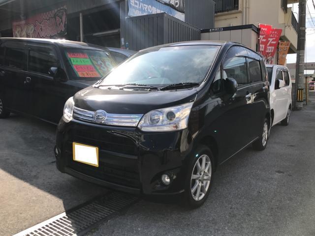 沖縄県の中古車ならムーヴ カスタム Xリミテッド ナビ TV