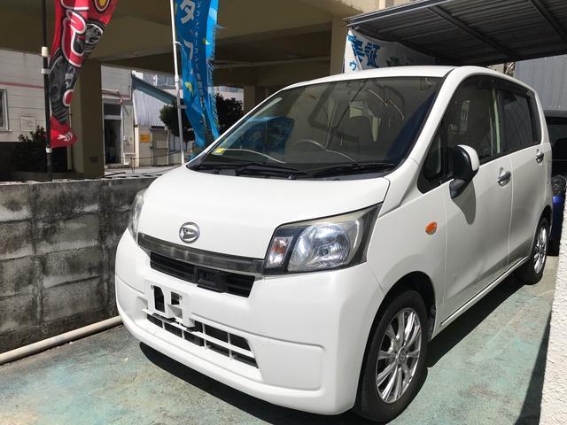 沖縄の中古車 ダイハツ ムーヴ 車両価格 39万円 リ済込 2013(平成25)年 10.0万km ホワイト