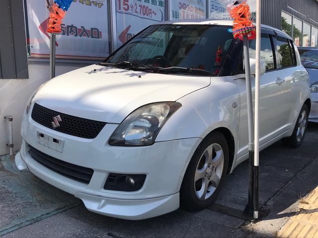 沖縄県の中古車ならスイフト 1.3XG リミテッドII 社外マフラー 純正RECAROシート スマートキー