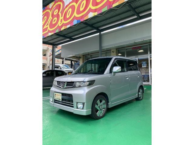 沖縄の中古車 ホンダ ゼストスパーク 車両価格 30万円 リ済込 2010(平成22)年 7.8万km シルバー