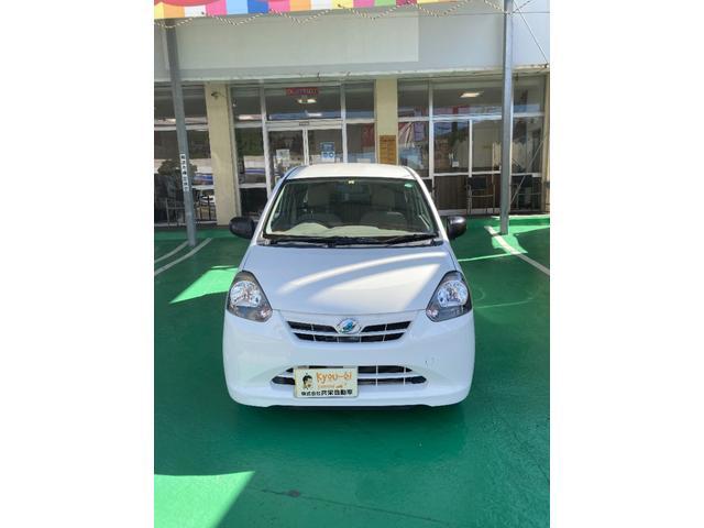沖縄の中古車 ダイハツ ミライース 車両価格 25万円 リ済込 2012(平成24)年 5.7万km ホワイト