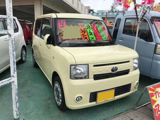 沖縄の中古車 トヨタ ピクシススペース 車両価格 69万円 リ済込 2014(平成26)年 5.0万km ライトイエロー