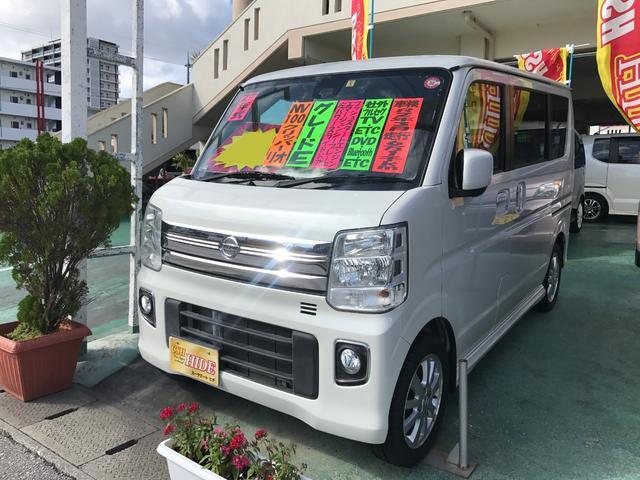沖縄の中古車 日産 NV100クリッパーリオ 車両価格 102万円 リ済込 2015(平成27)年 6.1万km パール