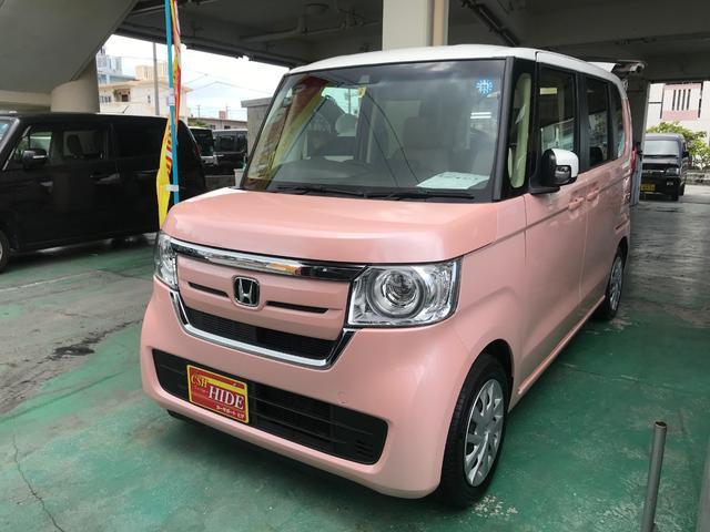 沖縄県沖縄市の中古車ならN-BOX G・EXホンダセンシング