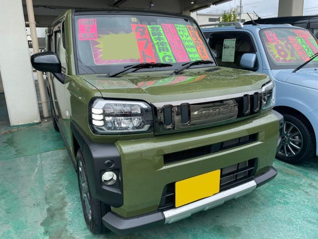 沖縄の中古車 ダイハツ タフト 車両価格 166万円 リ済込 2020(令和2)年 930km フォレストカーキメタリック