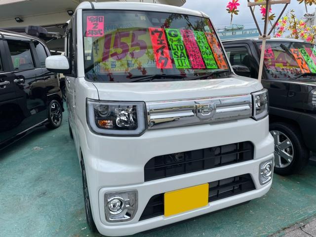 沖縄県沖縄市の中古車ならウェイク GターボリミテッドSAIII 8インチナビTV ブルートゥース バックモニター