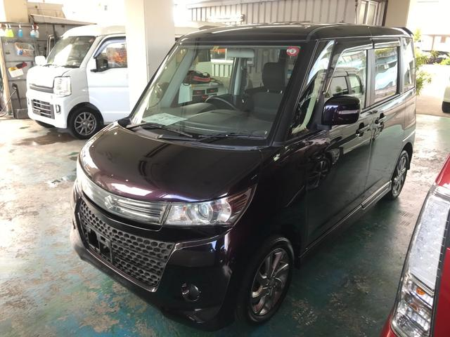 沖縄の中古車 スズキ パレットSW 車両価格 63万円 リ済込 2012(平成24)年 6.1万km パープル