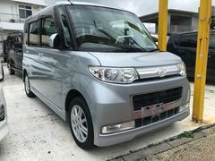 沖縄の中古車 ダイハツ タント 車両価格 49万円 リ済込 平成22年 12.4万K ブライトシルバーメタリック