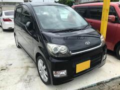 沖縄の中古車 ダイハツ ムーヴ 車両価格 43万円 リ済込 平成20年 9.6万K ブラックマイカ