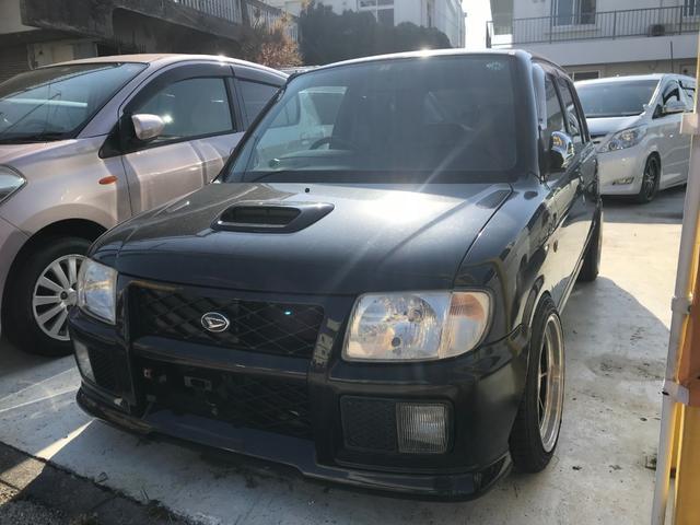 沖縄県の中古車ならミラ CR ターボ ハヤシ14インチホイール F車高調